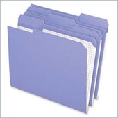 Esselte Reinforced Top Tab Colored File Folder