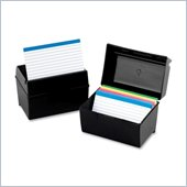 Oxford Index Card Storage Box