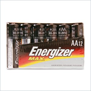 Eveready AA-Size Alkaline Battery Pack