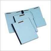 Globe-Weis Recycle Pressboard File Folder with Fasteners