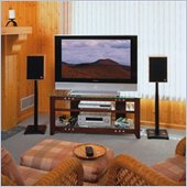 Sanus 49 Wood Plasma TV Stand