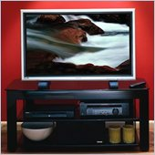 Sanus 49 Steel TV Stand in Black