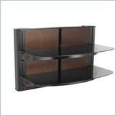 Sanus 24 Tall 2 Shelf Decorator Panel Wall Mounted Furniture