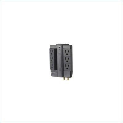 Sanus Surge Protector with 2100 Joule Protections in Black Finish