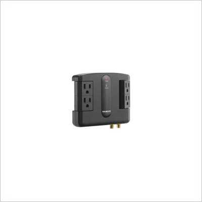 Sanus Low-Profile Surge Suppressor in Black