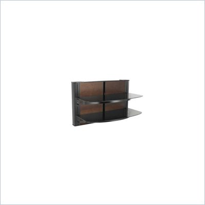 "Sanus 24"" Tall 2 Shelf Decorator Panel Wall Mounted Furniture"