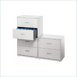 HON 400 Series Lateral File w/Lock