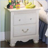 Standard Diana White Wash Nightstand