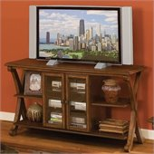Standard Furniture Madrid TV Stand in Cherry