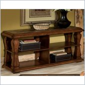 Standard Furniture Breckenridge TV Stand in Pecan