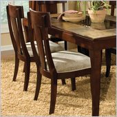 Standard Furniture Laguna Side Chair in Dark Merlot Finish