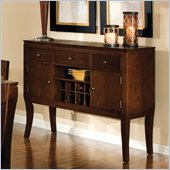 Standard Furniture Laguna Sideboard in Dark Merlot Finish