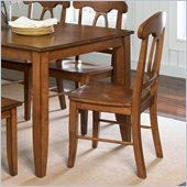 Standard Furniture Branson Side Chair in Antique Oak