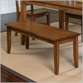Standard Furniture Branson Bench in Antique Oak