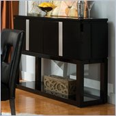 Standard Furniture Folio Sideboard in Black High Gloss Finish
