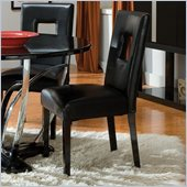 Standard Furniture Folio Side Chair in Black