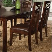 Standard Furniture Sonoma Side Chair in Warm Oak Finish
