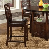 Standard Furniture Sonoma Stool in Warm Oak Finish