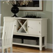 Standard Furniture Regency Server in White
