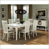 Standard Furniture Regency 7 Piece Dining Set in White