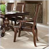 Standard Furniture Embassy Arm Chair in Shiraz Cherry
