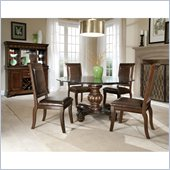Standard Furniture Embassy 5 Piece Dining Set in Shiraz Cherry