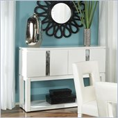 Standard Furniture Meridian Sideboard in White Gloss