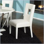 Standard Furniture Meridian Side Chair in White