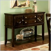 Standard Furniture Coterno Server in Dark Coffee