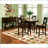 Standard Furniture Coterno 5 Piece Counter Height Dining Set