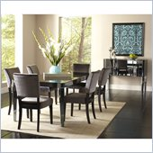 Standard Furniture Parisian 7 Piece Dining Set in Gloss Black