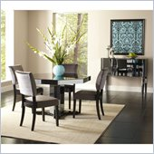 Standard Furniture Parisian 5 Piece Dining Set in Gloss Black