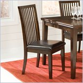 Standard Furniture Peyton Side Chair in Dark Merlot