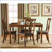 Standard Furniture Gatsby Dining Set in Warm Brown Cherry
