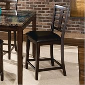 Standard Furniture Bella Barstool in Chocolate Cherry