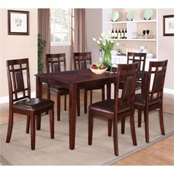 Standard Furniture Westlake Dining Table Set in Golden Brown