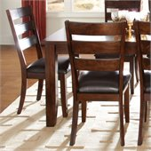Standard Furniture Abaco Side Chair in Tobacco Brown