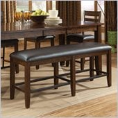 Standard Furniture Abaco Bench in Tobacco Brown