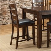 Standard Furniture Abaco Stool in Tobacco Brown