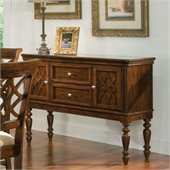 Standard Furniture Woodmont Sideboard in Brown Cherry