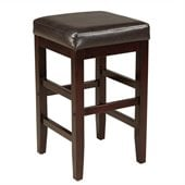 Standard Furniture Smart Stools Square Counter Height in Brown