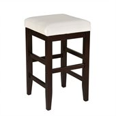 Standard Furniture Smart Stools Counter Height Square in White