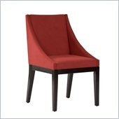 Standard Furniture Karma Chair in Red Velvet