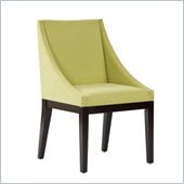 Standard Furniture Karma Chair in Green Velvet