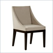 Standard Furniture Karma Chair in Taupe Velvet