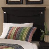 Standard Carlsbad Youth Panel Twin Headboard in Dark Pecan Finish