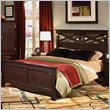 ADD TO YOUR SET: Standard City Crossing Panel Bed in Cherry Finish