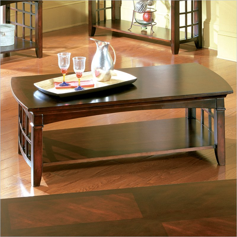 Furniture living room furniture rectangular coffee table cherry wood rectangular coffee table Cherry wood coffee tables
