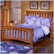 ADD TO YOUR SET: Standard City Park Kids Slat Bed in Cherry Finish