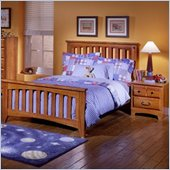 Standard City Park Kids Slat Bed 2 Piece Bedroom Set